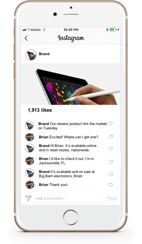 Instagram customer service - LiveWorld