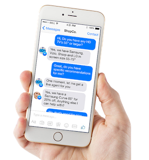 CPG chatbot - LiveWorld software