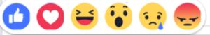 Facebook Reactions Emojis