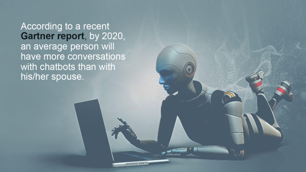 Gartner 2020 more conversations with chatbot than spouse